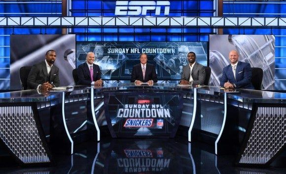 Still from ESPN's Sunday NFL Countdown