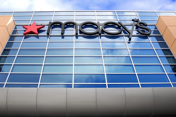 A Macy's storefront in Rancho Cucamonga, California.