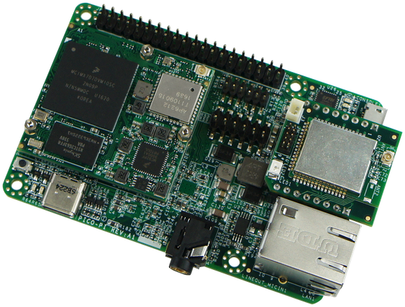An Android Device development board, featuring NXP chips.