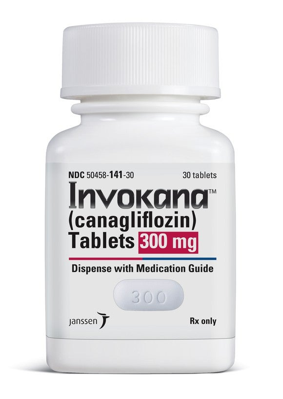 A bottle of Invokana.