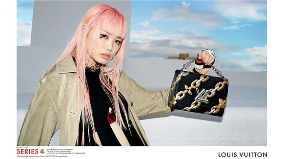 Louis Vuitton's Series 4 campaign.
