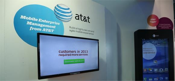 Display at AT&T conference.