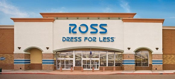 The exterior of a Ross Dress for Less store