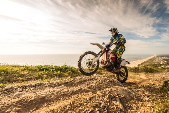 Enduro dirt bike