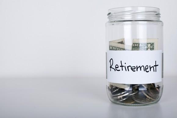 Retirement jar.
