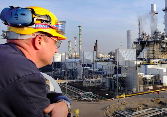 A Royal Dutch Shell employee.