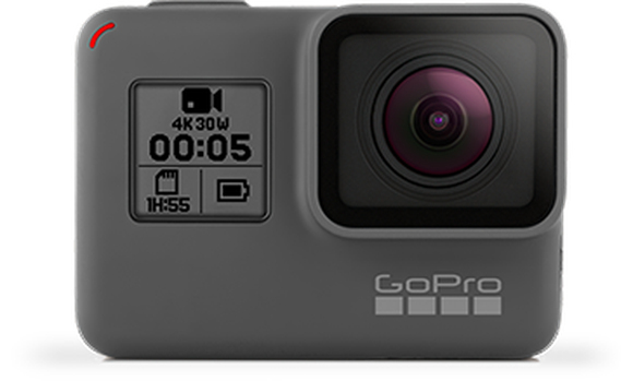 Image of GoPro's flagship HERO 5 action camera.