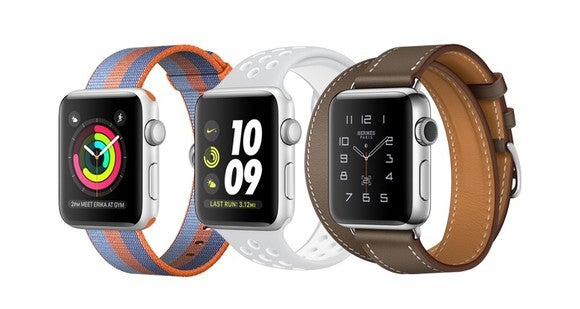 3 Apple Watches.