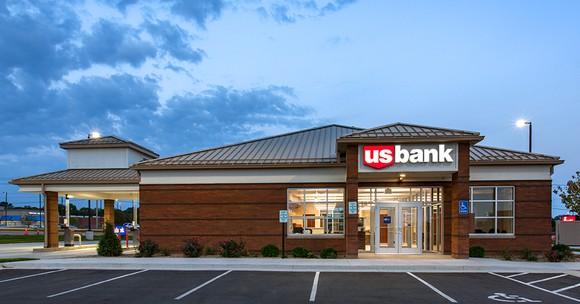 A U.S. Bank branch.