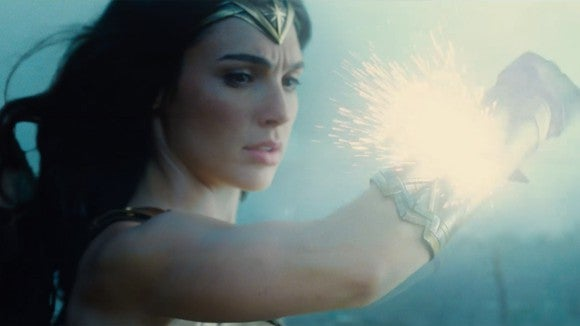 Gal Gadot as Wonder Woman in the new film.