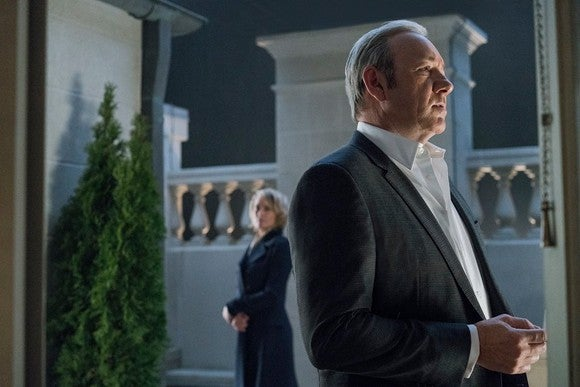 "A scene from ""House of Cards"""