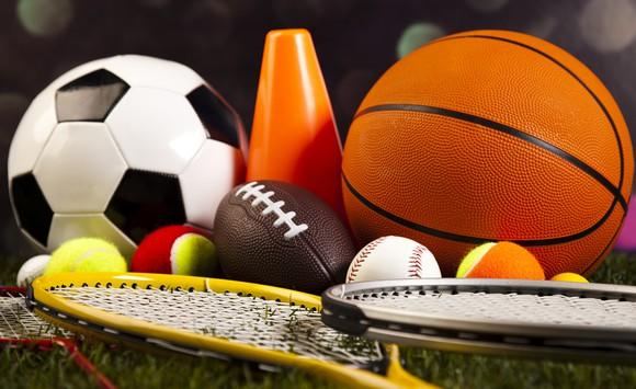 Balls and sports equipment