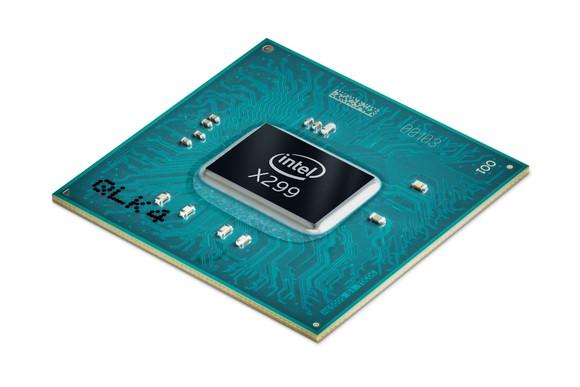 Intel's X299 PCH chip.