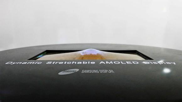 Samsung stretchable OLED display
