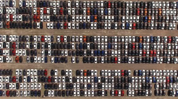 Full car lot