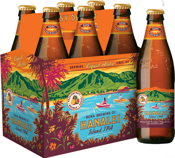 Bottles of Kona beer.