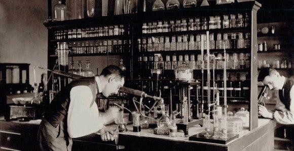 Eli Lilly during the early days.