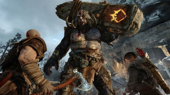 """Characters from Sony's upcoming """"God of War""""."""