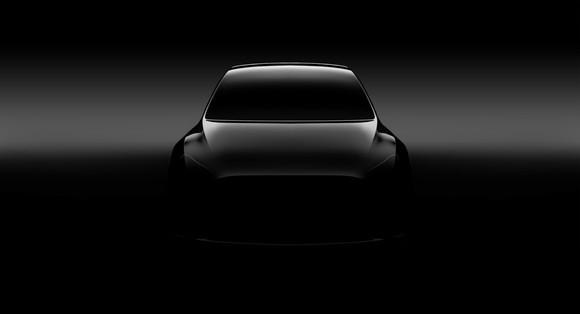 Tesla Model Y teaser image