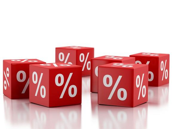 Percentage cubes.