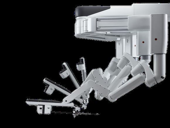 da Vinci Xi robot surgery system.