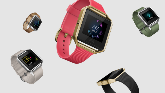 Different styles of Fitbit's Blaze.