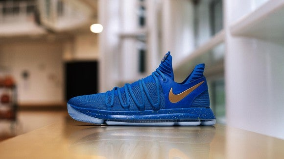 Finals MVP Kevin Durant's shoe, The KD10