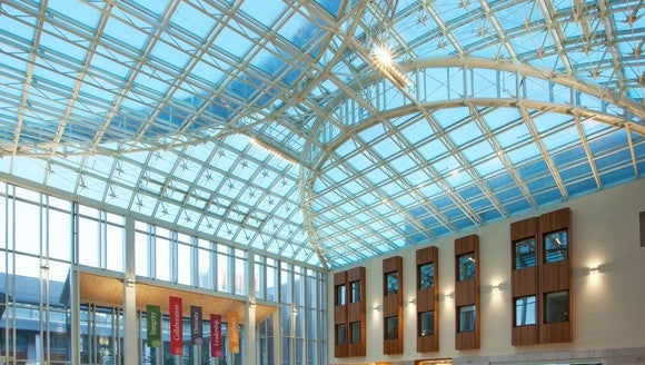 Architectural glass.