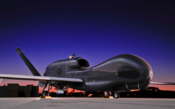 A U.S. Air Force aircraft