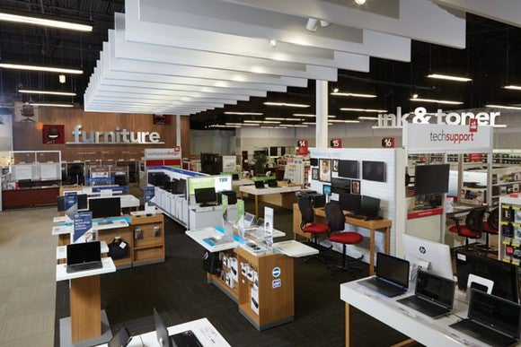 "Office Depot's ""store of the future"""
