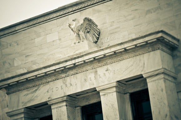 Exterior of Federal Reserve