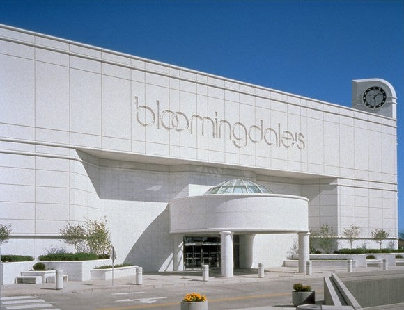 The exterior of a Bloomingdale's store