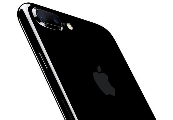 Black iPhone 7 Plus.