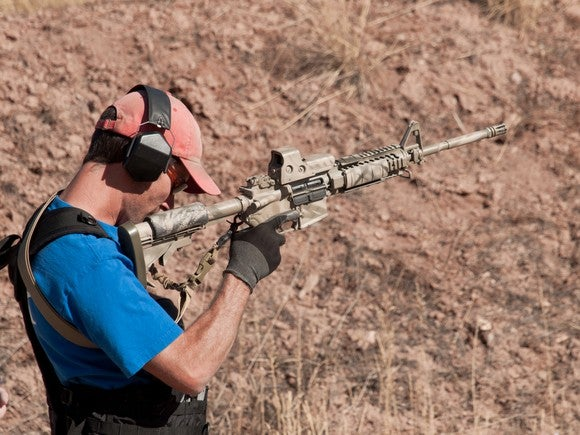 AR-15 modern sporting rifle