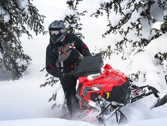 Polaris 800 snowmobile