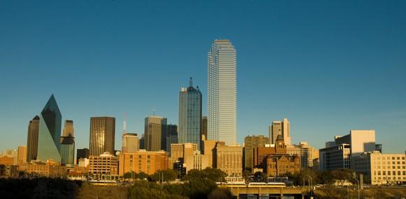 Bank of America Plaza in Dallas Texas.