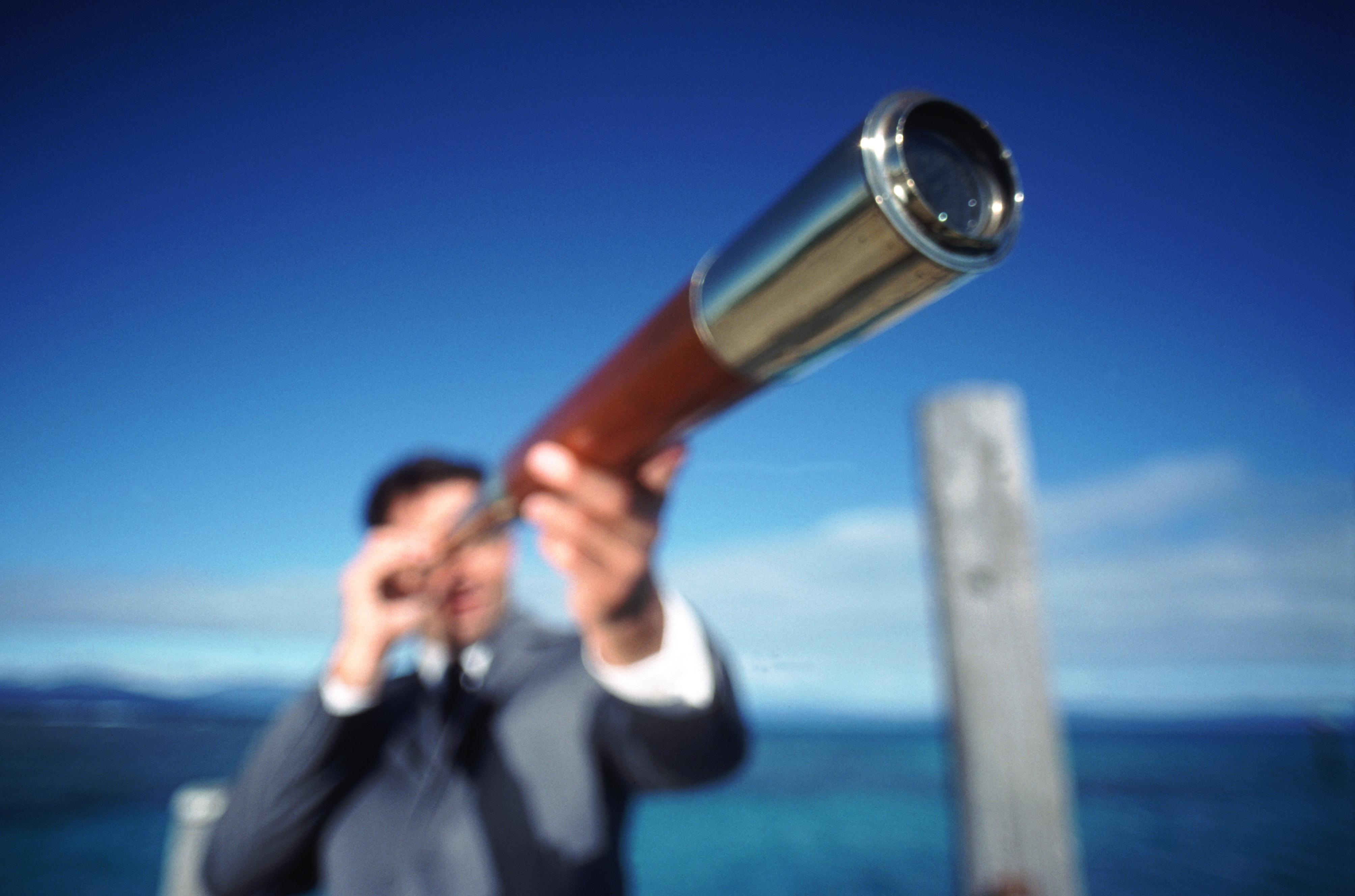 نتيجة بحث الصور عن A man looking at a telescope