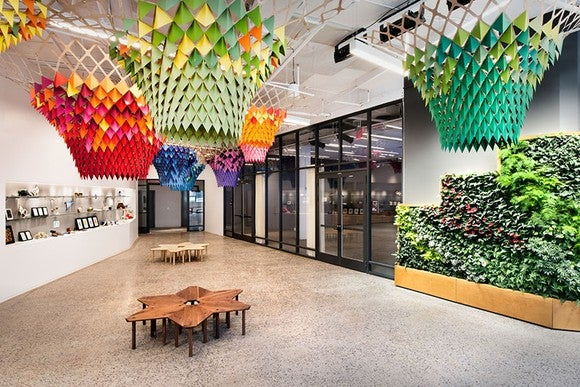 A scene at Etsy's headquarters