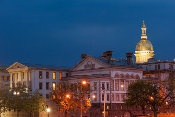 New Jersey state capital building