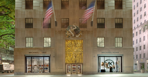 Michael Kors' Rockefeller Center location