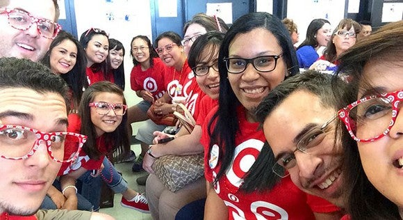A group of Target employees