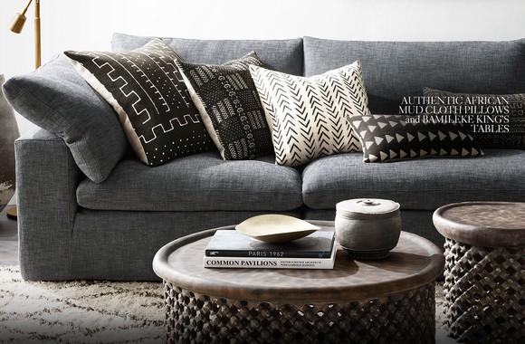 RH couch set.
