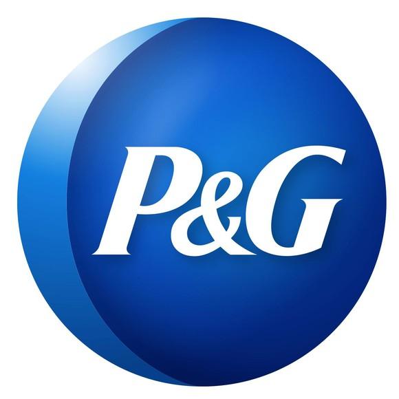 P&G's logo.