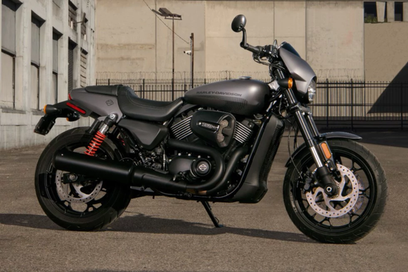 Harley-Davidson Street Rod motorcycle.