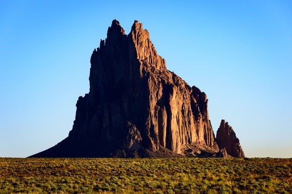 The Shiprock of New Mexico