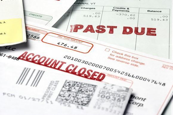 Past due debt
