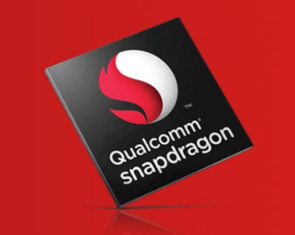Qualcomm Snapdragon logo.
