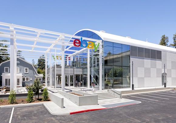 eBay headquarters in San Jose, California.