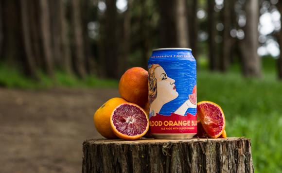 Anchor Brewing's Blood Orange Blonde