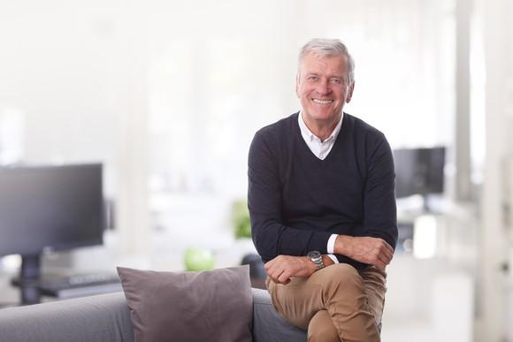 Smiling older male